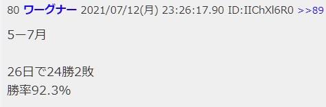 11-高勝率を謳うポンドスレの王・ワーグナー氏の予想154円を不覚にも期待してしまう-2021年7月23日の週を終えて